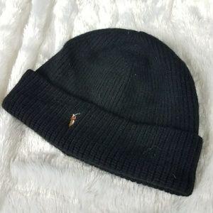 RALPH LAUREN POLO BEANIE CAP HAT
